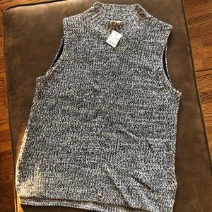 NEW WITH TAGS J. Crew Turtleneck Tank Top Shell